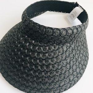 Accessories - NWOT✨black visor.